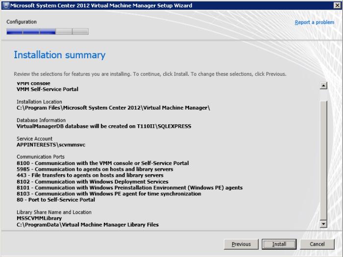 Step by step guide to setup Microsoft System Center: Virtual Machine